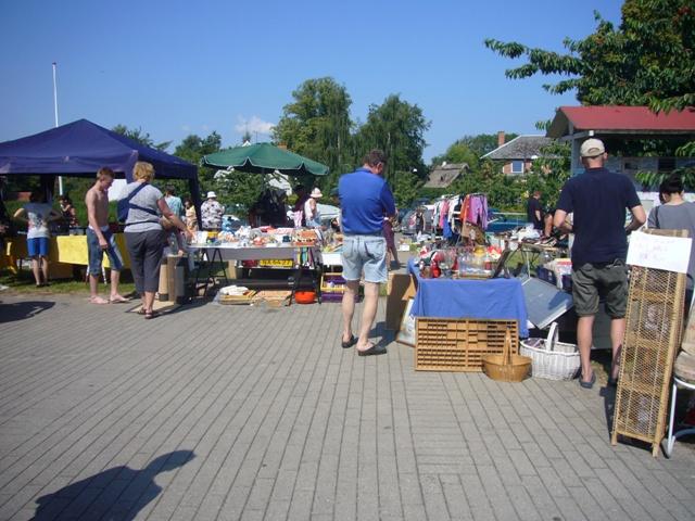 Sommermarked på Orø